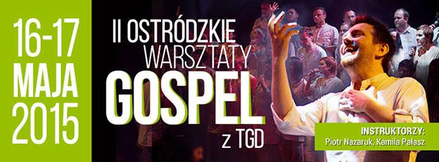 Plakat warsztatów Gospel